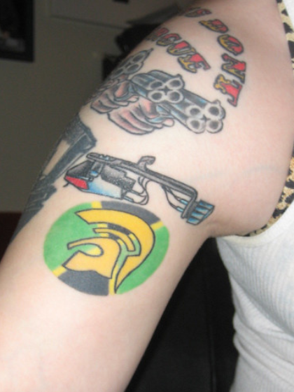 Tatuajes personalizados hombro