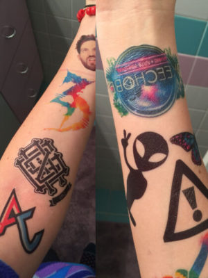 Tatuaje personalizado brazo
