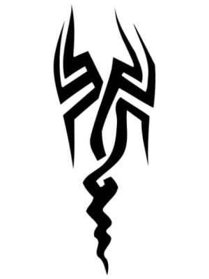 Tatuaje Temporal Tribal 4