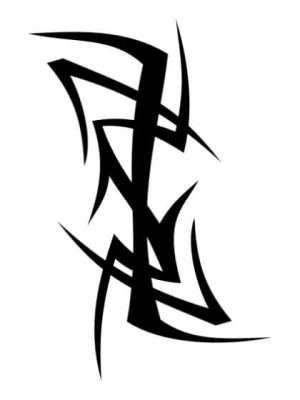 Tatuaje Temporal Tribal 7
