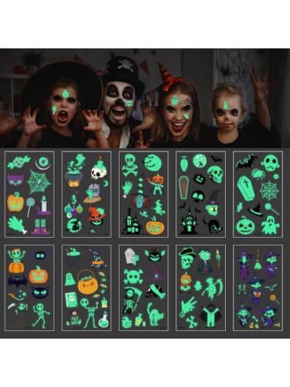 Tatuajes Halloween varios