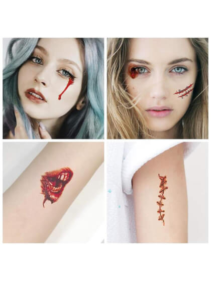 Cicatriz Halloween Yatatu