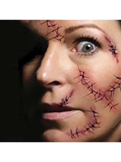 Cicatrices cara Yatatu Halloween